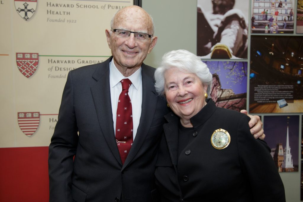 Richard A. Smith and Susan F. Smith, Co-Founders of the Smith Family Foundation at Harvard in 2013